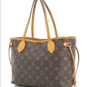Authentic LOUIS VUITTON Monogram Tote Bag Purse